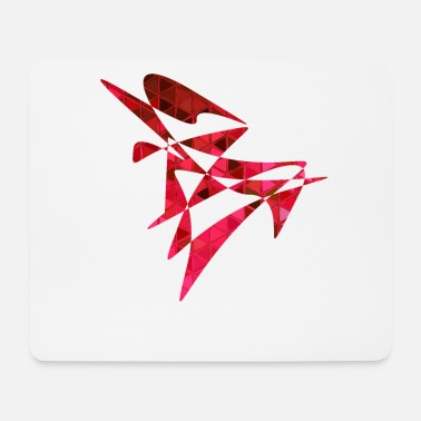 Vector Vector red - Mouse Pad