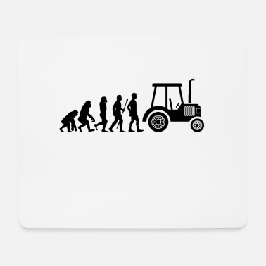 Trecker Tractor Trecker Evolution Farmer Farmer Farm - Mouse Pad