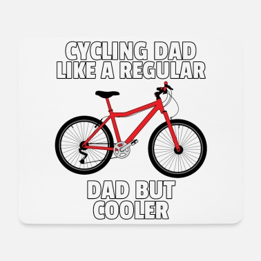 Birthday Lover Bicycle cyclist cycling cycling gift - Mouse Pad