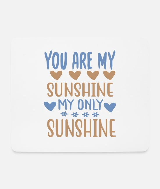Travel Mouse Pads - You are my - Adventure Design - Mouse Pad white
