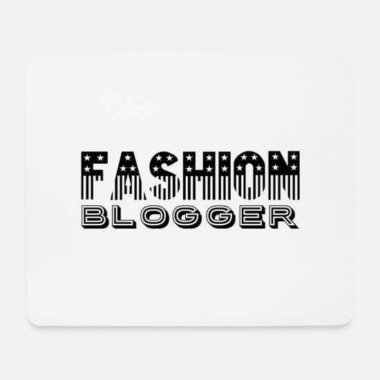 Blogger Mousepads  - Fashion Blogger - Mousepad Weiß