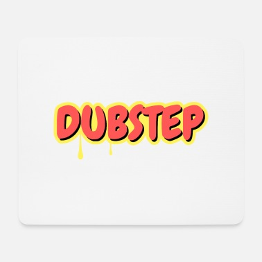 Vinyl Dubstep comic style - Mouse Pad