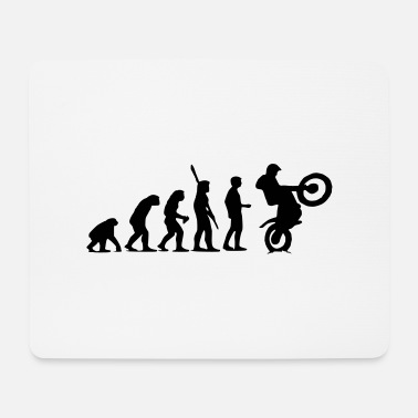 Development Of Mankind Trial Evolution - Mouse Pad