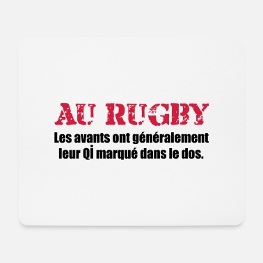 Rugby rugby - Tapis de souris