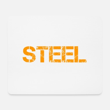 Steel Steel - Mousepad