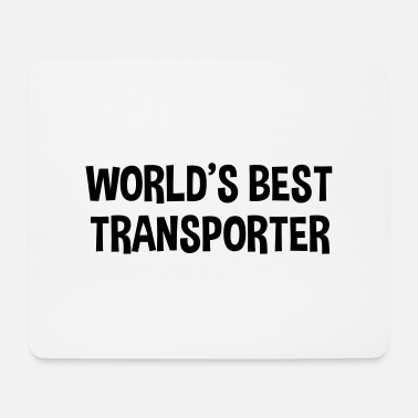 worlds best transporter - Mouse Pad