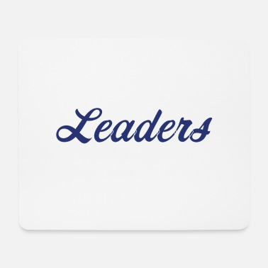 Blue White Blue white leaders - Mouse Pad
