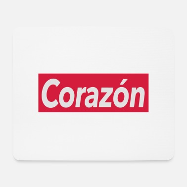 Corazon Corazon - heart - Mouse Pad