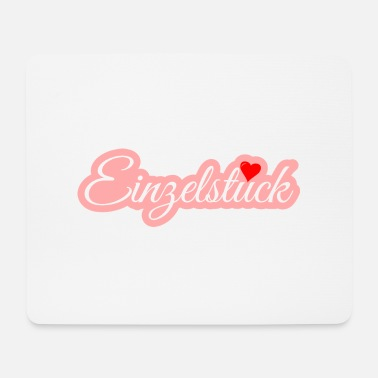 Single piece with heart! - Mouse Pad