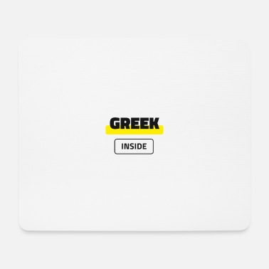 Greek Inside - Mouse Pad