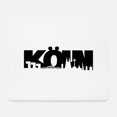 Köln Skyline - Mousepad