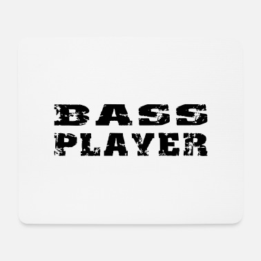 Bass bass player - Mousepad