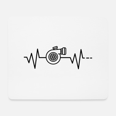 Heartbeat Turbo, Turbocharger, Engine, Tuning, Tuning - Mouse Pad