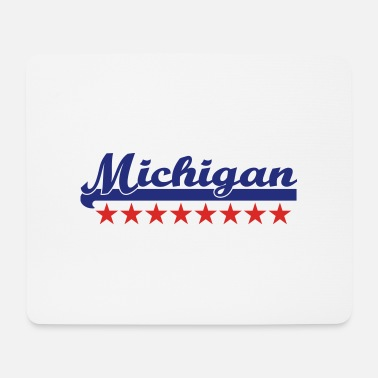 Michigan michigan - Mousepad