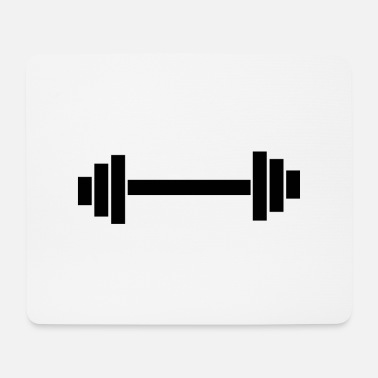 dumbbell - Mouse Pad