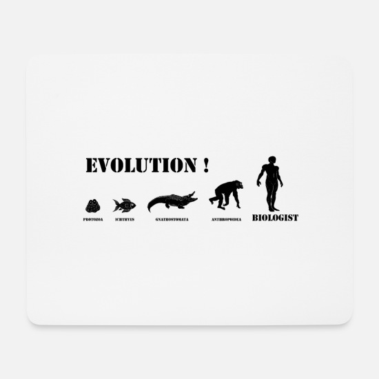 Evolution Mouse Pads - EVOLUTION - Mouse Pad white