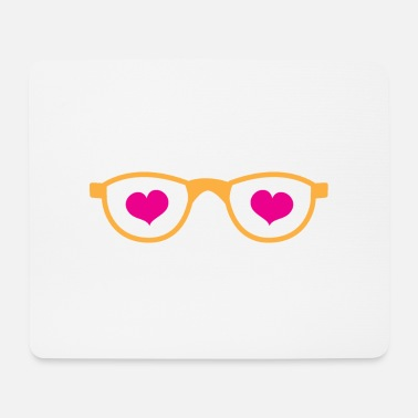 Geeky Geeky glasses - Mouse Pad