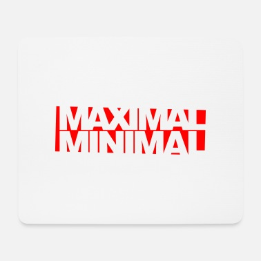 Minimum Maximum minimum Invert - Mouse Pad