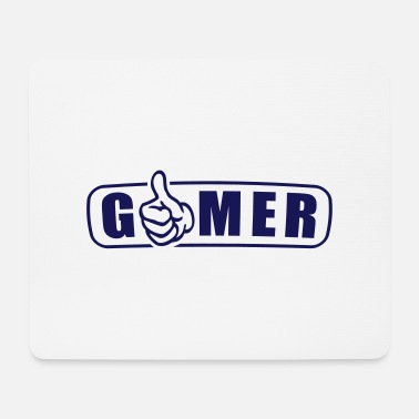 Streichholz gamer_1 - Mousepad