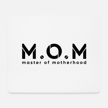 Household Geschenidee mother is a master in the household - Mouse Pad