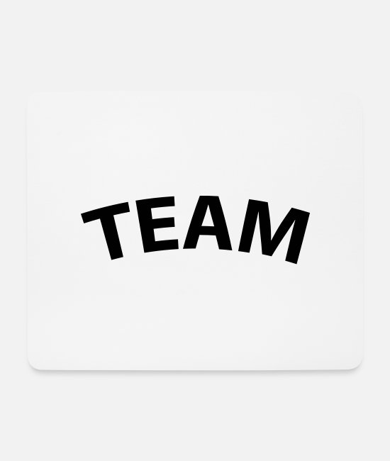 Group Mouse Pads - Team - Mouse Pad white