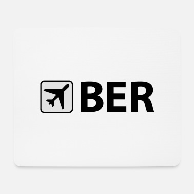 Airport Airport - Airport - BER - Berlin - Willy Brandt - Mouse Pad