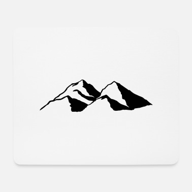 Mountains Mountain Mountains - Mouse Pad