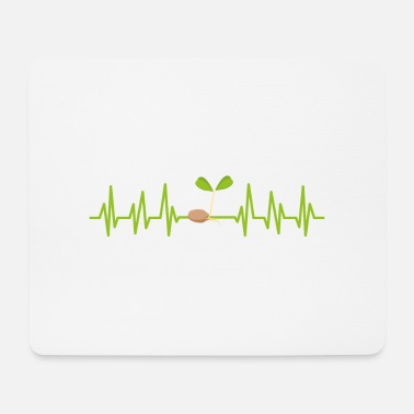 Sprouts Heartbeat sprouts Microgreens gift sprouts - Mouse Pad
