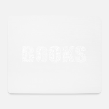 Books Books books book lovers - Mouse Pad