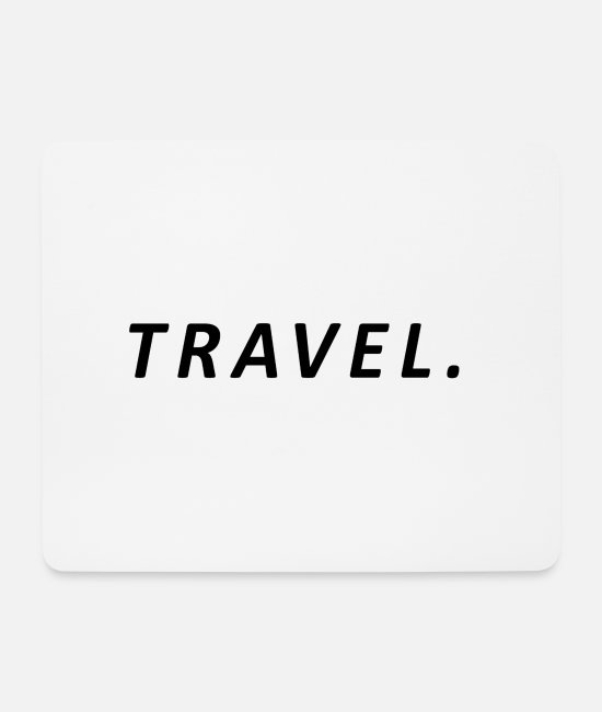 Travel Bug Mouse Pads - Travel / Travel - Mouse Pad white