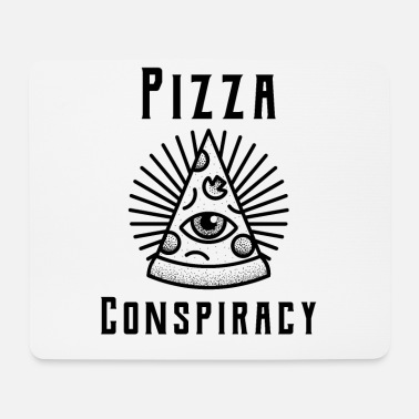 Conspiracy Pizza conspiracy - Mouse Pad