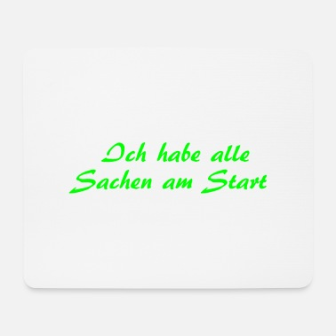 Start Am Start - Mousepad
