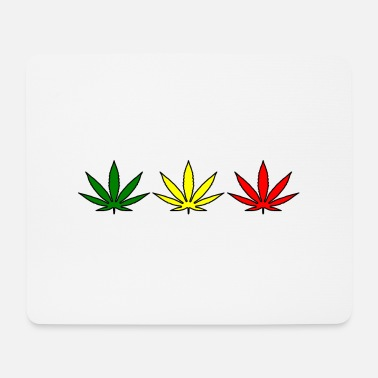 Ragga Ganja leaves - Mouse Pad