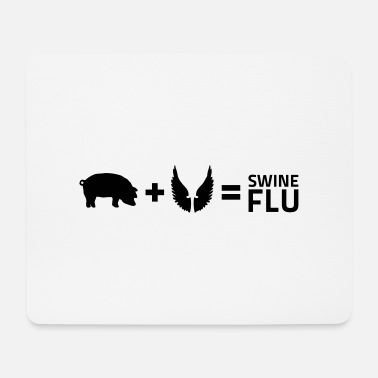 Flu The swine flu - Mouse Pad