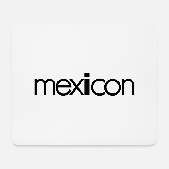Banner Mousepads  - Mexicon banner - Mousepad Weiß