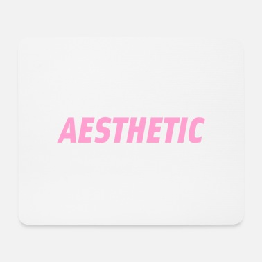 Aesthetic Aesthetic tee - Mouse Pad