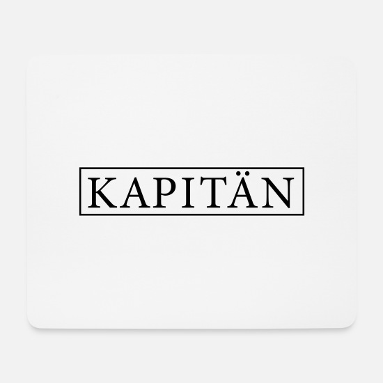 Movers Mouse Pads - Captain - Mouse Pad white