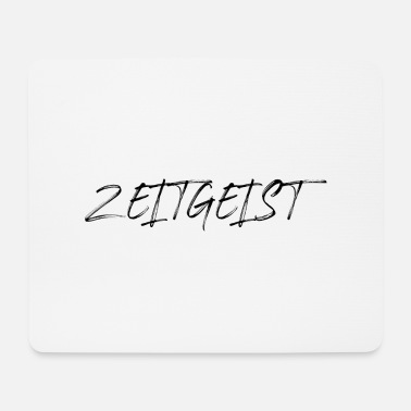 zeitgeist saying font - Mouse Pad