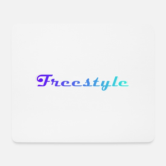 Gift Idea Mouse Pads - Freestyle - Mouse Pad white
