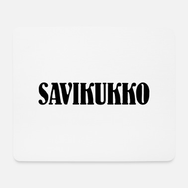 Kuramutkansanomat Clay Cock - Text - Mouse Pad