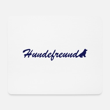 Dog Friend Dogs friend - Mouse Pad