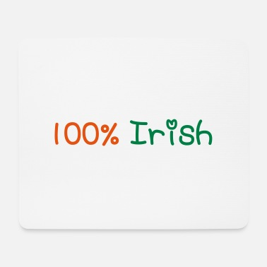 Most Bucket List Languages To Learn People To Meet And Fall In Love Countries To Visit And Travel To ♥ټ☘Kiss Me I'm 100% Irish-Irish Rule☘ټ♥ - Mouse Pad