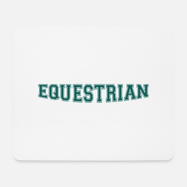 Writing Equestrian Writing - Tapis de souris