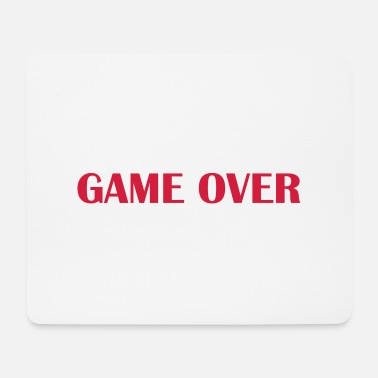 Game Over Game over - Tappetino per mouse (orizzontale)