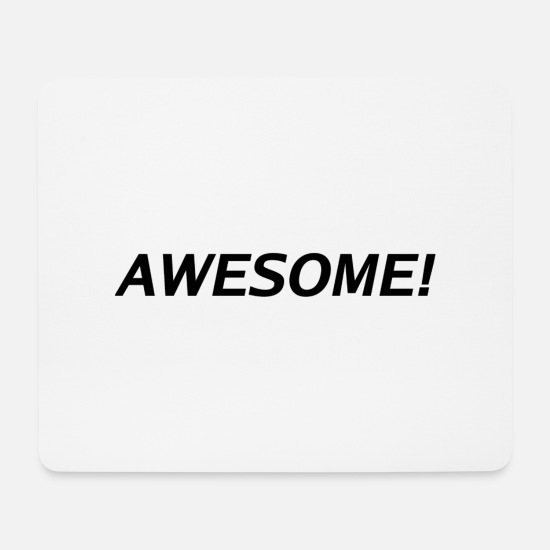 Minimum Tapis de souris  - AWESOME! - Tapis de souris blanc