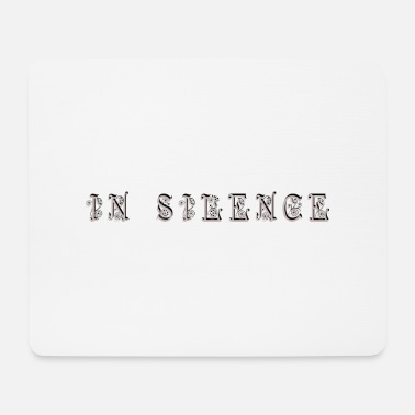 Silence in silence - Mouse Pad