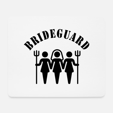 Hen Night Brideguard (hen night) - Mousepad