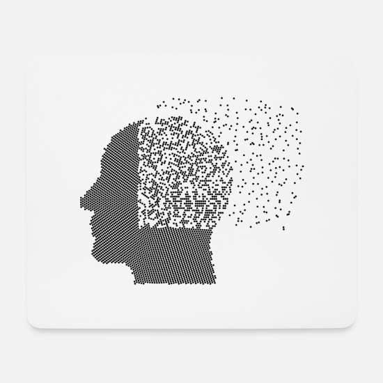 Health Mouse Pads - Mental image - Mouse Pad white