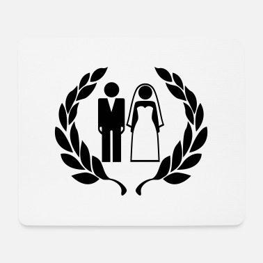 Wedding Couple Hochzeitspaar - Wedding Couple - Mouse Pad