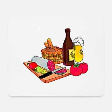 Snack snack - Mouse Pad